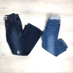 Girl's Justice Jeans Bundle Size 10